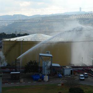 Petrokemian palontorjunta