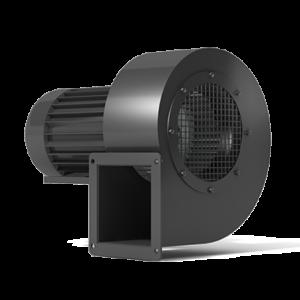 Low-pressure radial fans