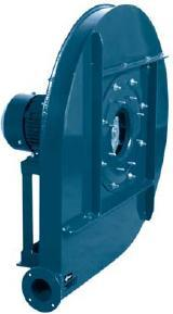 High-pressure radial fans